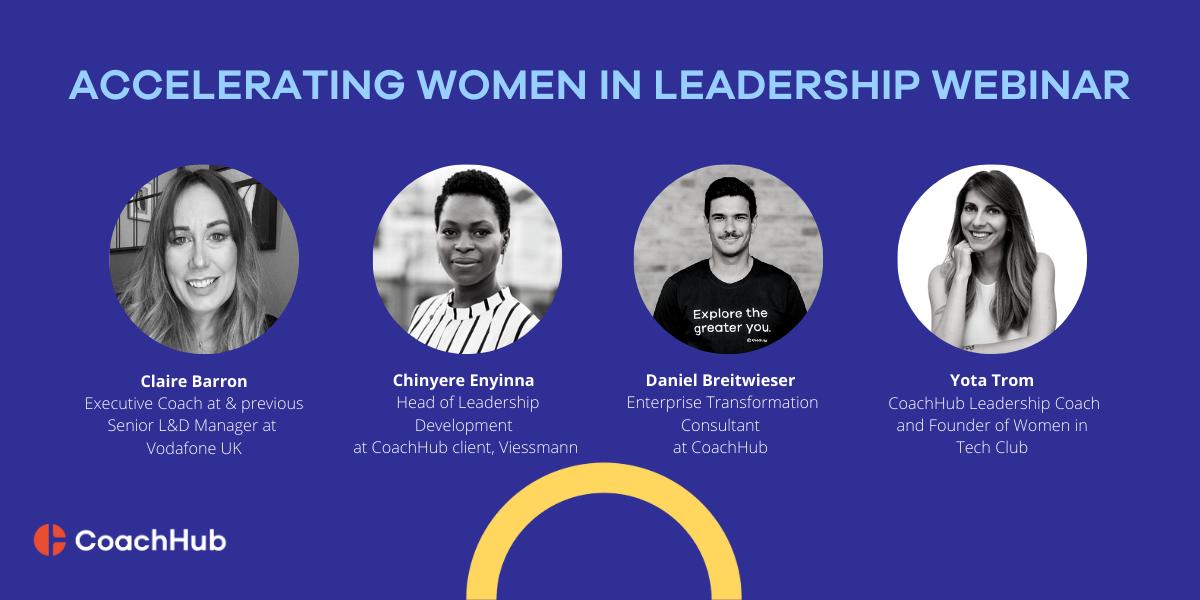 Women in leadership webinar